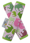 Pink Elephant Baby Stroller Strap Cover