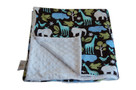 Zoology Blue Baby Elephant Ears Blanket