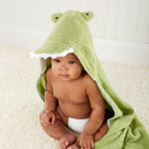 """Splash-a-while Crocodile"" Hooded Spa Towel"