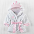 """Little Princess"" Hooded Spa Robe"