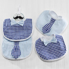 """Little Man"" Bib Baby Gift Set"