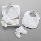 """Beautiful Blessings"" Bib & Socks Baby Gift Set"