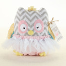 """Haddie-Hoo and Bloomer Too!"" Plush Owl & Bloomer Baby Gift Set"