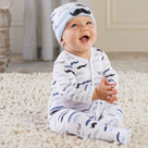 """Little Man"" Pajama Baby Gift Set"