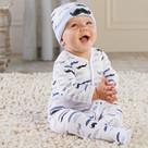 """Little Man"" Pajama Baby Gift Set"