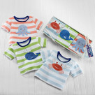 """Deep Sea Tee's"" Set of 3 T-Shirts Baby Gift Set"