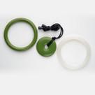 Peridot & Pearl Teething Bling Jewelry Gift Set