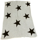 Floating Stars Non-Personalized Butterscotch Blankee