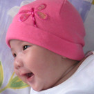Sequins Dragonfly Baby Hat
