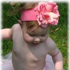 Candy Pink Rose Headband