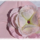 Pale Pink Rose Baby Hat