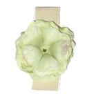 Cream Green Rose Headband