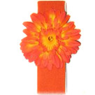 Orange Daisy Headband