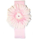 Pale Pink Daisy Headband