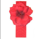 Red Rose Headband