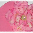 Candy Pink Peony Toddler Hat