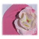 Candy Pink Rose Toddler Hat