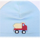 Baby Blue Dumptruck Boy Hat