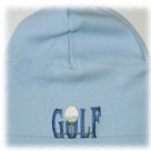 Baby Blue Golf Boy Hat