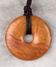 Bronze Donut Pendant