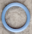 Cotton Candy Blue Teething Bling Bangle Bracelet