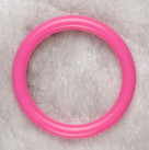 Hot Pink Teething Bling Bangle Bracelet