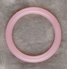 Pink Cupcake Teething Bling Bangle Bracelet