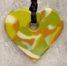 Chameleon Heart Teething Bling Necklace