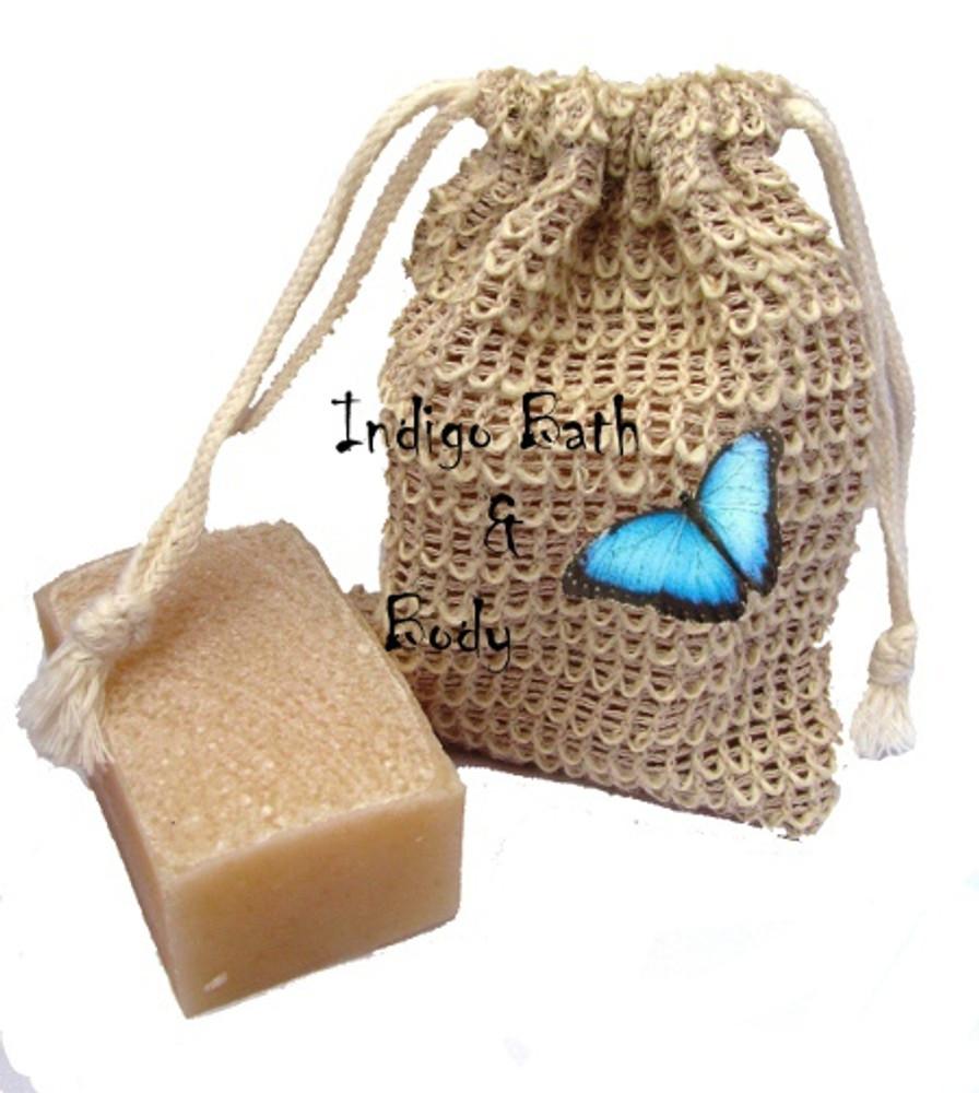 Cambric Soap Saver Spa Bag