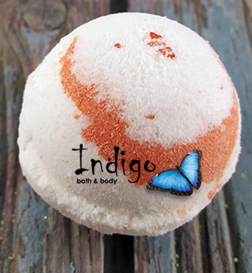 Shea Butter Bath Bombs -IND - Tangerine