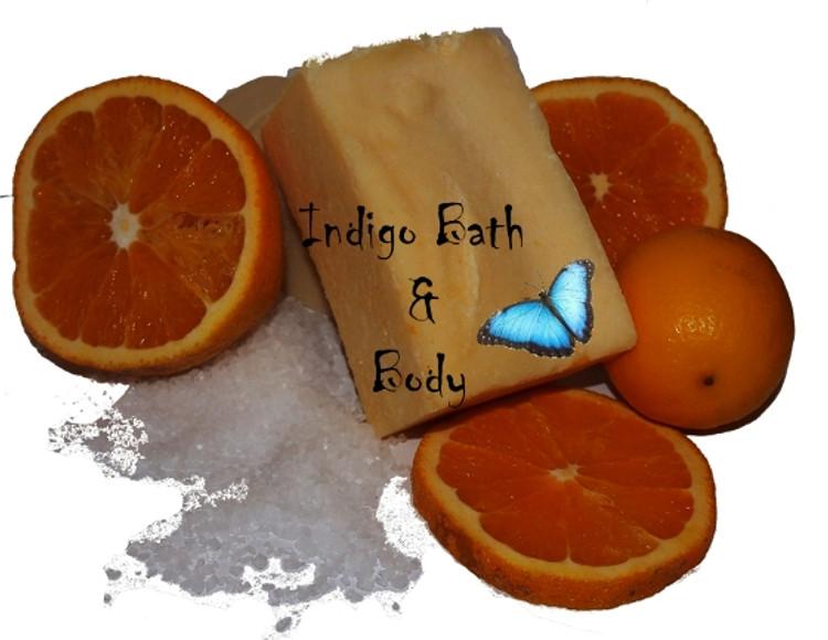 Dead Sea Salt Spa Bar - Sicillian Citrus