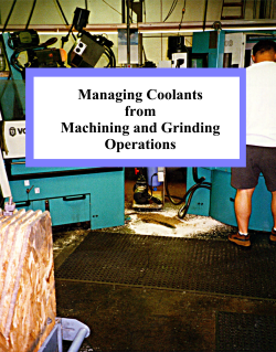 Managing Coolants Book Cover