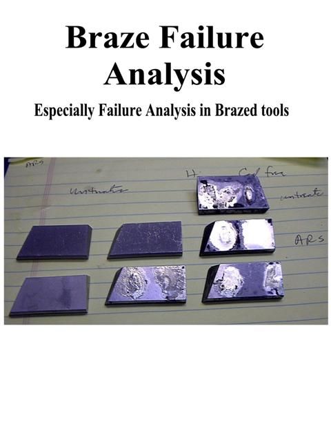 Braze Failure Analysis Book Cover