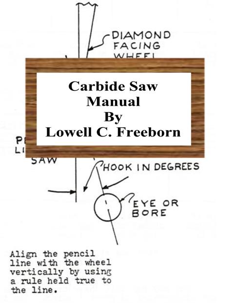 Carbide Saw Manual Book Cover