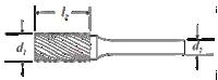 Cylinder Shape Bur
