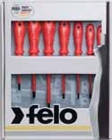 Felo Series 613 7 Piece VDE Screwdriver Set