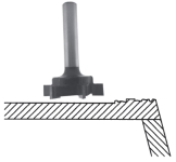 Solid Surface Planer Router Bit