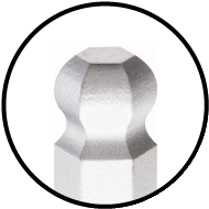 Bondhus BriteGuard Ball End Hex Tip