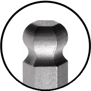 Bondhus ProGuard Ball End Hex Tip
