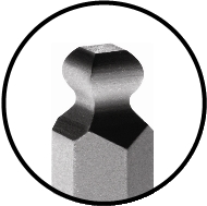 Bondhus Ball End Square Tip