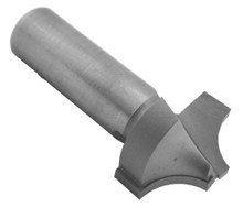 Plunge, Roundover Router Bit (2 Flute), Carbide Tipped - Southeast Tool - Southeast Tool SE2066