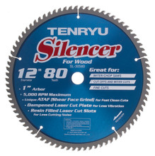 Tenryu SL-30580 - Silencer Series Saw Blade