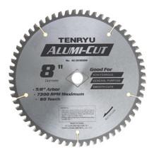"Alumi-Cut Saw Blade, 8"" Dia, 60T, 0.087"" Kerf, 5/8 - Tenryu AC-20360DN"