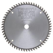 "Tenryu PC-18560CB - Plastic Cutter Series Saw Blade, 7 1/4"" dia x 60T"