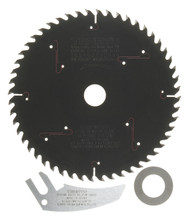"Plunge-Cut Saw Blade, 6-1/4"" Dia, 52T, 0.063"" Kerf, 20mm Arbor, Tenryu PSW-16052CB2TK"