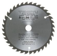 Tenryu PT-14036 - Power Tool Series Saw Blade for Table/Portable Saw