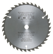 Tenryu PT-15236 - Power Tool Series Saw Blade for Table/Portable Saw