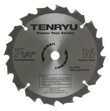 Tenryu PT-18516B - Power Tool Series Saw Blade for Table/Portable Saw