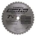 "Steel-Pro Saw Blade, 7-1/4"" Dia, 38T, 0.079"" Kerf, 5/8""KO Arbor, Tenryu PRF-18538BW"