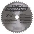 "Steel-Pro Saw Blade, 7-1/4"" Dia, 48T, 0.079"" Kerf, 20mm Arbor, Tenryu PRF-18548BW2"